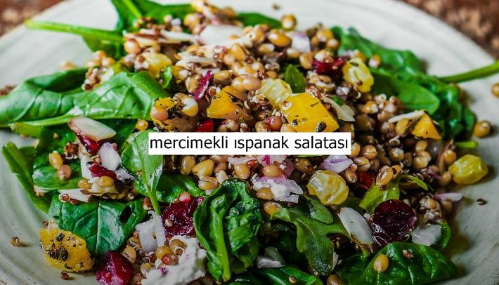 Fazla kilolarınızdan muzdaripseniz ve diyet yapıyorsanız mercimekli ıspanak salatası sizin için doğru bir tercih. Ispanak demir ve magnezyum yönünden oldukça zengin bir sebze. Yeşil mercimek içinse söylenecek hiçbir şey yok. Bu kadar besleyici lezzeti bir araya gelmesiyle elde edilen muhteşem mercimekli ıspanak salatasının kalorisi de az olduğu için kilo yapmaz. Mutlaka deneyin
