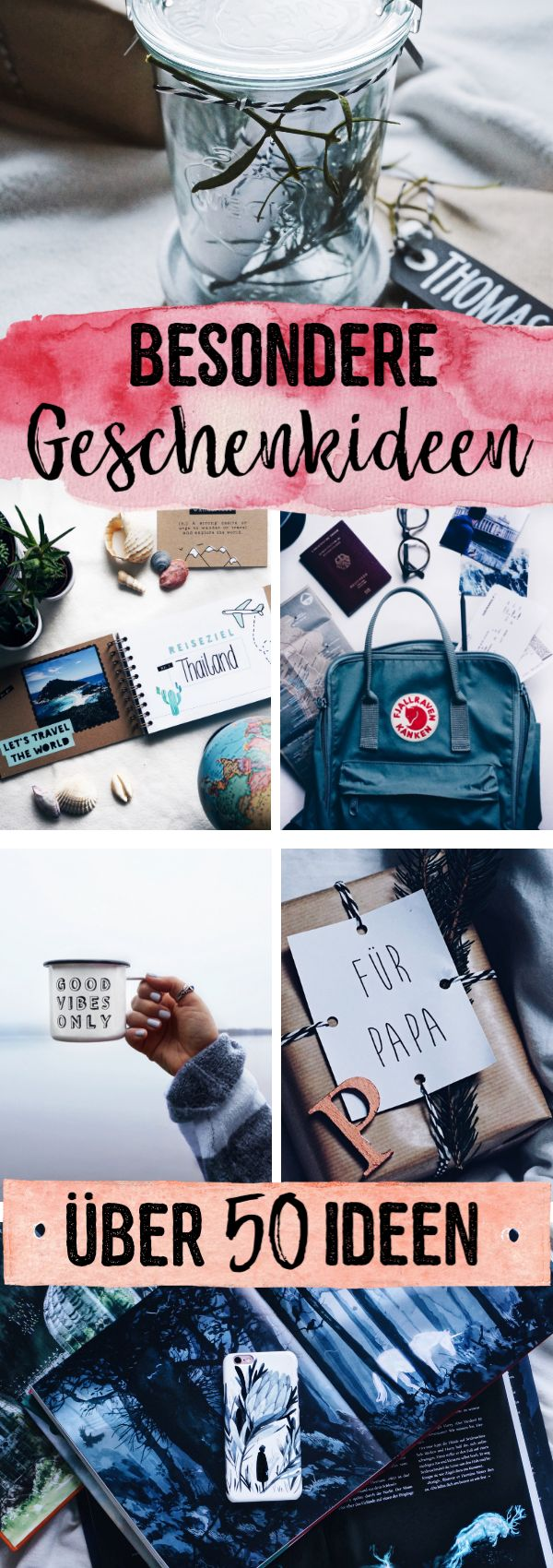 Besondere Geschenkideen | über 50 kreative Ideen