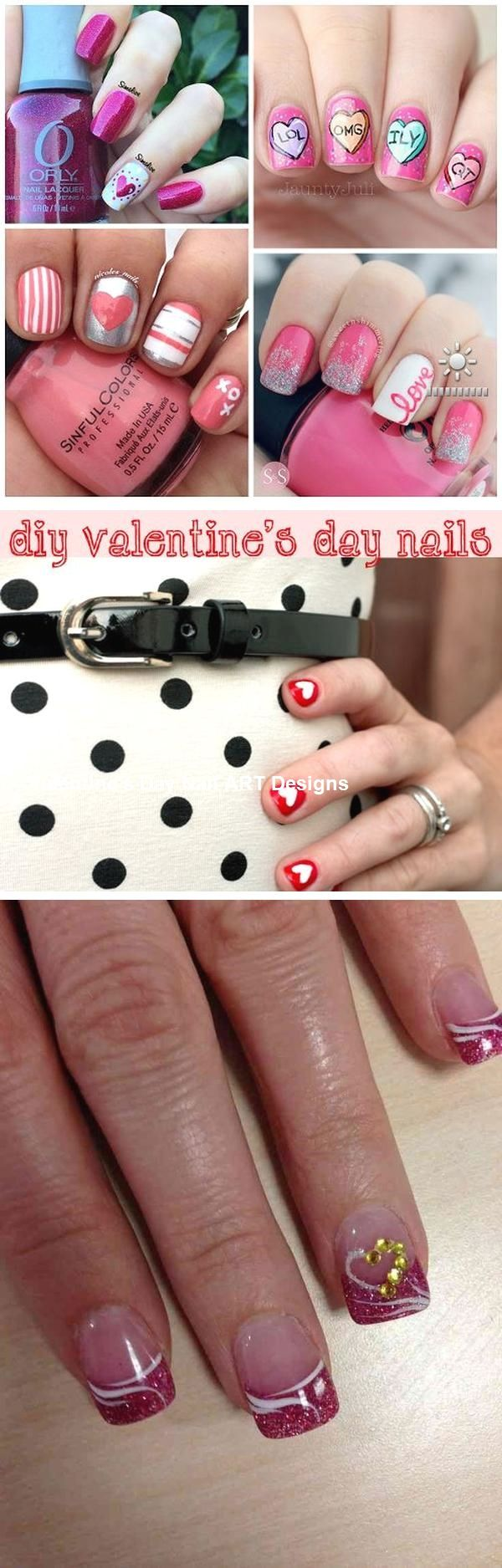 Best Nail Art Design Ideas for Valentines Day #valentinesday