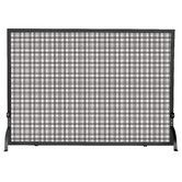 Found it at Wayfair - 1 Panel Wrought Iron Fireplace Screen