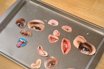Making faces magnets