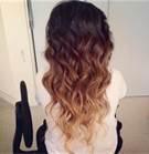short hair brunette with golden highlights - Bing Images
