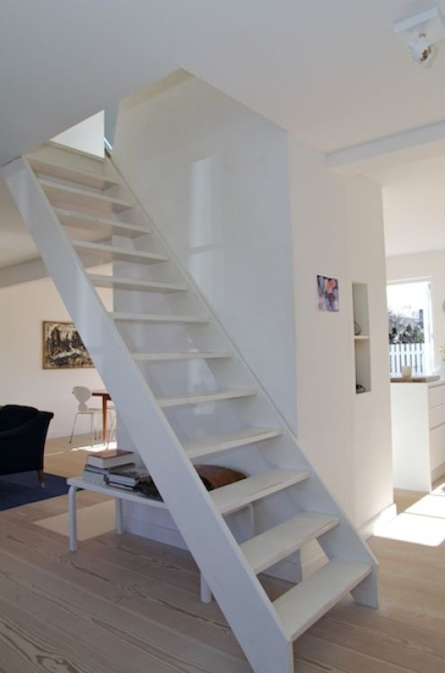 Lovely ***attic Stairs/loft Stairs Add A Railing***