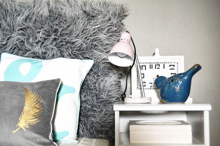 Zagłówek tapicerowany FLOKATI Alpaka Home&C... - HomeColor - Łóżka