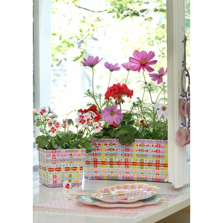 Flower Box / Liten Förvaringskorg Jane Lilac, kategori Förvaring Inreda.com
