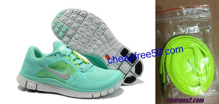Womens Nike Free Run 3,tiffany blue nikes $49, want these soooooo bad!!!!! #tiffany #free #runs
