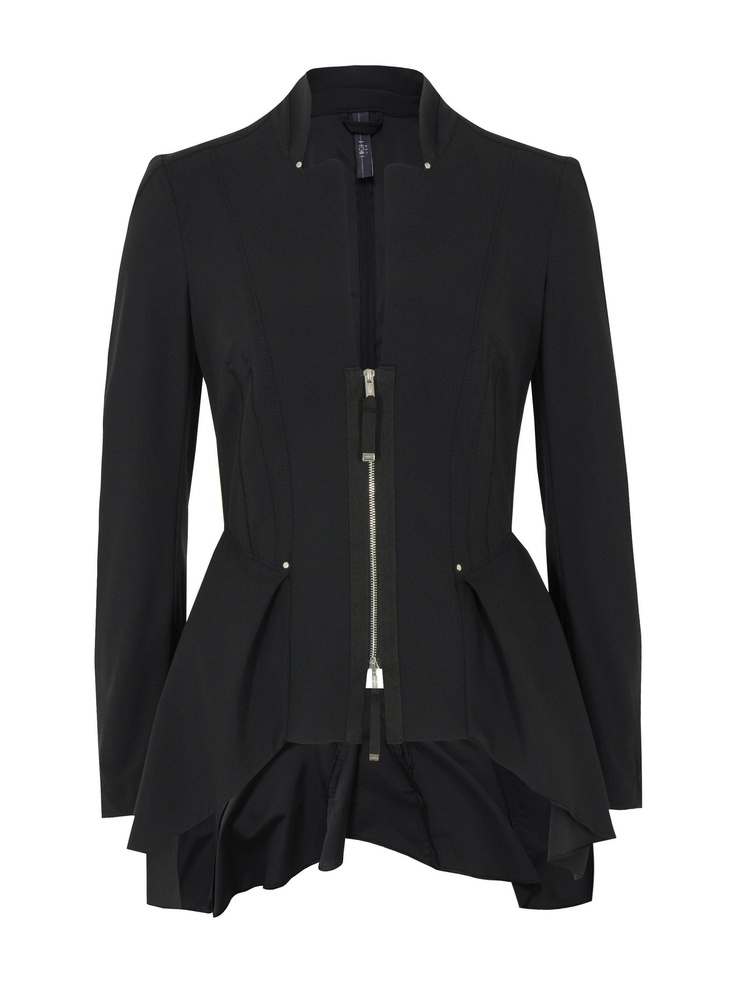 How cute would a woman look in this jacket/skirt hybrid? My guess is very cute.