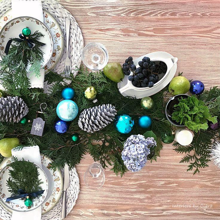 wigilijny stół Interiors by Clara christmas table