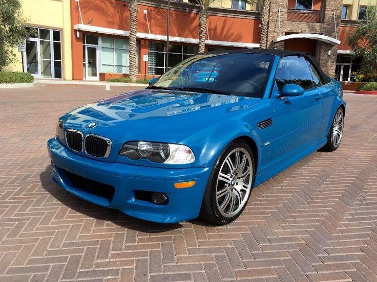 Car brand auctioned:BMW: M3 m3 2001 Car model bmw m 3 laguna seca blue 6 speed