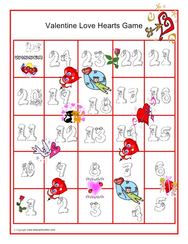 Valentines Day Love Hearts Game Valentines Day Ideas