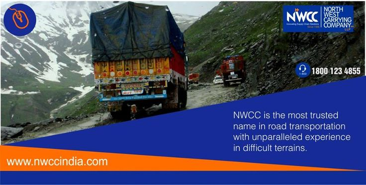 NWCC has unparalleled experience in transportation services in difficult terrains. #NWCC is a most trusted name in road transportation, going the extra mile to ensure that the cargo is delivered quickly and safely.  #transporation #Logistics #Distribution