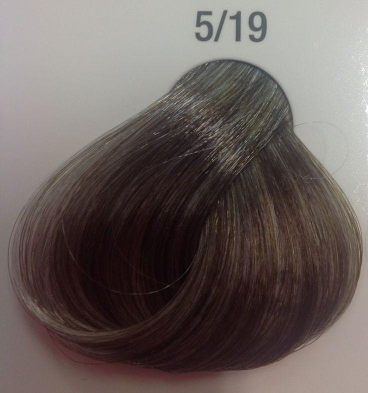 Color Fresh Wella Silver line 5/19 - WELLA COLOR FRESH SILVER DEEP ASH CENDRE BROWN 5.19