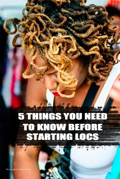 5 Things You Need To Know Before Starting Locs | CurlyNuGrowth