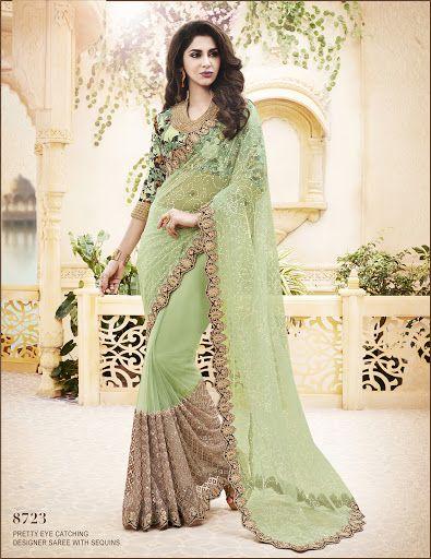 Bandini Designer Saree: #8723