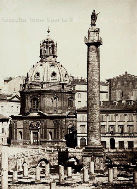 Colonna e Foro Traiano Anno: 1852