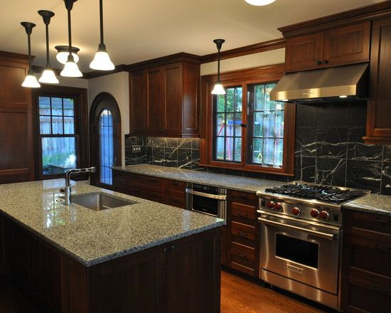 Magnificent Kitchen Cabinet Design amazing kitchen designs with cherry wood cabinets super Kitchen Design Elegant Traditional Kitchen Design With Brown Wooden Kitchen Cabinet Also Elegant Kitchen Island