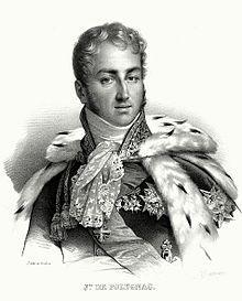 Jules de Polignac (1780-1847) Jules de Polignac est le fils cadet de Jules de Polignac (1746-1817), capitaine au régiment Royal-Dragons, et de Gabrielle de Polastron, comtesse puis duchesse de Polignac, amie et ancienne favorite de la reine Marie Antoinette et gouvernante des Enfants de France.