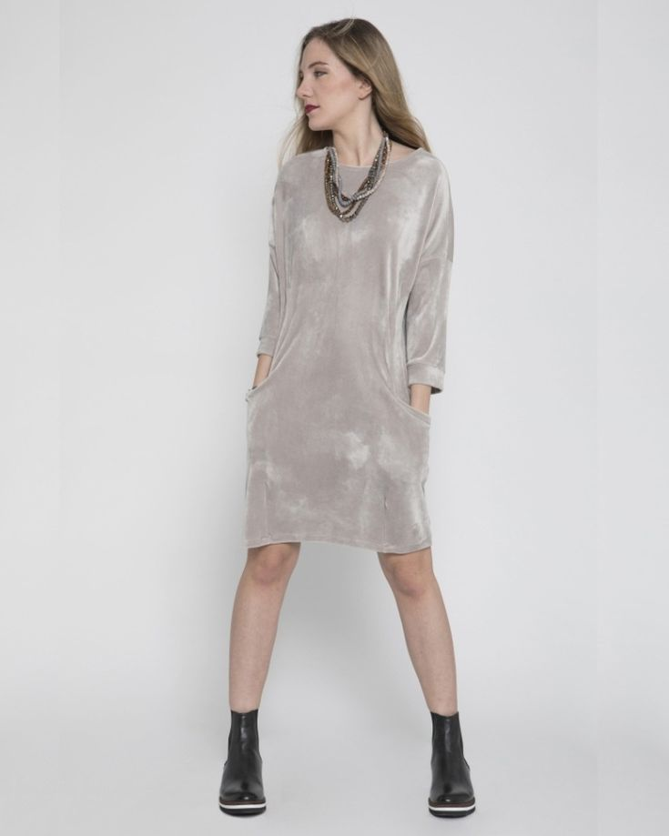 #iscollection  #mywinter #her #sales #Athens #casualdress #greylurex #pockets