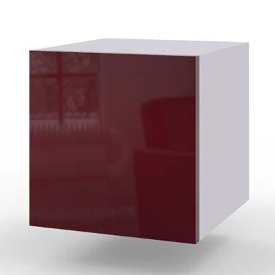 czerwony połysk - akryl