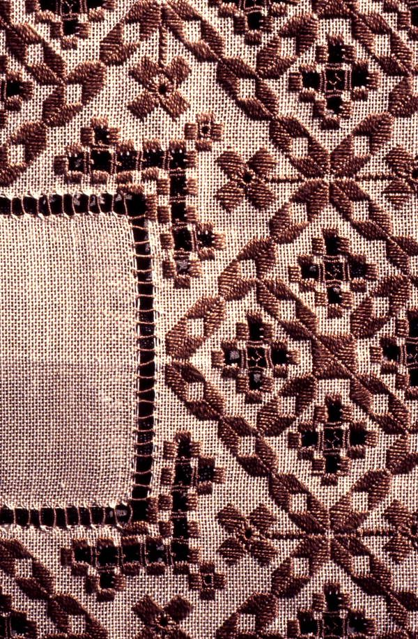 Florida Memory - Hardanger embroidery made by Lillian Bolstad - Orlando, Florida