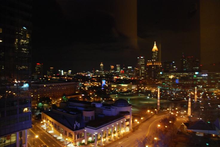 Atlanta la nuit