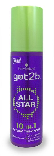 Schwarzkopf got2b all star 10-in-1 styling Schwarzkopf got2b all star 10-in-1 styling treatment: Express Chemist offer fast delivery and friendly, reliable service. Buy Schwarzkopf got2b all star 10-in-1 styling treatment online from Express C http://www.MightGet.com/january-2017-11/schwarzkopf-got2b-all-star-10-in-1-styling.asp