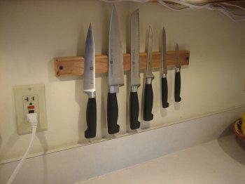 Мелочи для дома: магнитный держатель для ножей