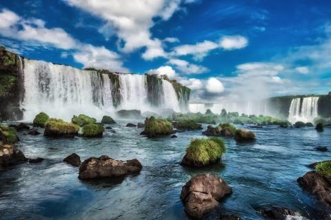 Iguazufallen, Brasilien & Argentina