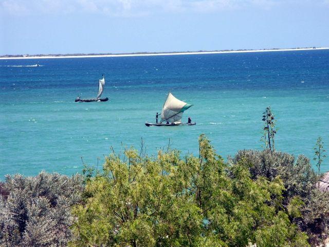 Anakao avec ses eaux turquoises