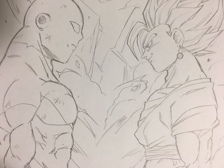 Vegetto Blue vs Jiren The Gray