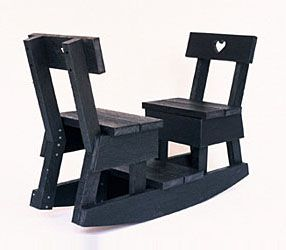 2 Seat Share Chair by Interior Tools...Im thinking another project for Uncle Rico? Maybe double the seating! Luv it!