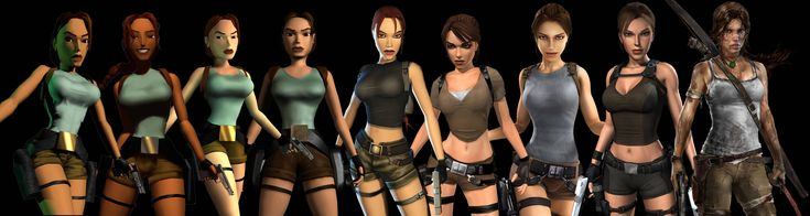 Lara Croft costume inspiration.