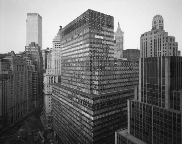 Vista de Battery Plaza, en Nueva York, 1975.