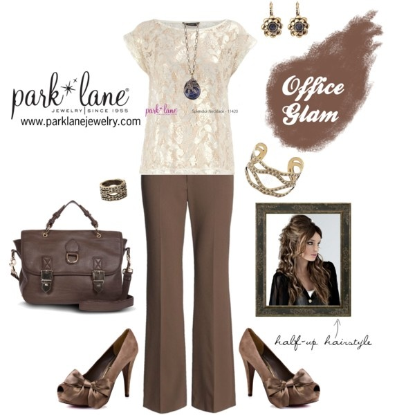 Office Glam, created by parklanejewelry on Polyvore  Park Lane Jewelry featured: Splendor necklace, Casablanca earrings, A La Mode bracelet & ring  Visit www.myparklane.com/ddavis to make your purchases!: Mode Bracelets, Polyvore Parks, Parks Lane, Splendor Necklaces, Casablanca Earrings, The Mode, Jewelry Features, Offices Glam, Lane Jewelry