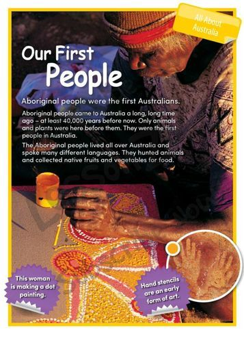 All About Australia: Our First People (member resource)