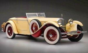 Gambar Mobil Klasik 1927 Mercedes Benz
