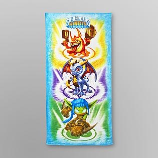 Essential Home -Skylanders Beach Towel - Spyro