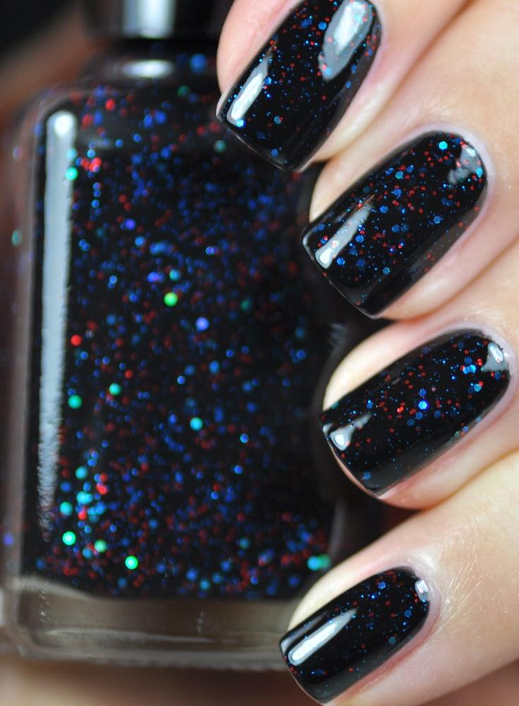 Best 25+ Blue glitter nails ideas on Pinterest   Sparkly nail ...