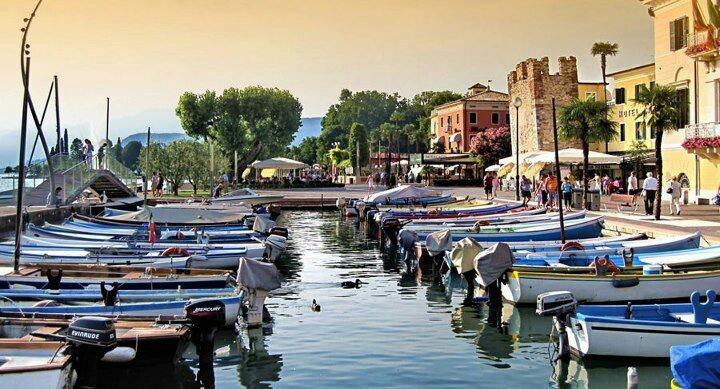 Bardolino, lake Garda, Italy.