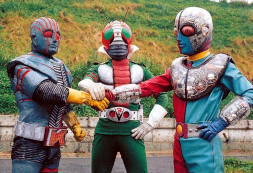 Robot Keiji, Kamen Rider V3, Kikaida 01