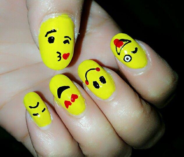 Emotion nail art #nehasuradkar #MakeupSutra #nailsbyneha