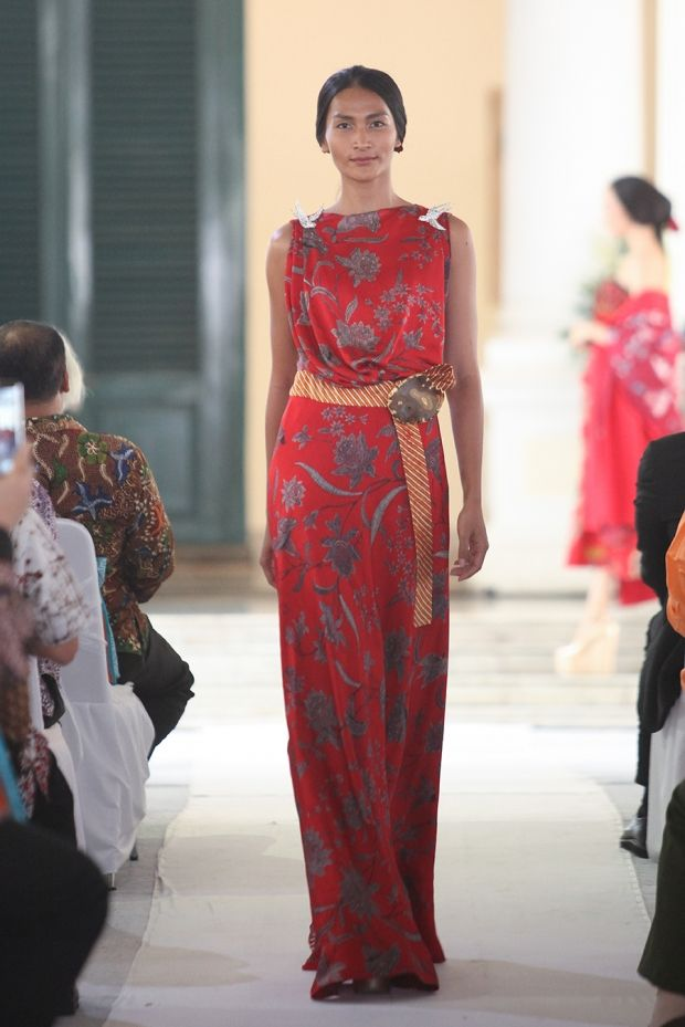 Batik dress by  Didi Budiardjo #Batik #dress