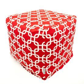 Majestic Home Goods Red Bean Bag Chair 85907210104