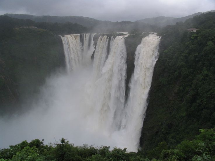 The Jog Falls [in Karnataka] - one of the most spectacular waterfalls in India - is the highest natural-plunge waterfall in South Asia, and is listed among the 1001 natural wonders of the world.