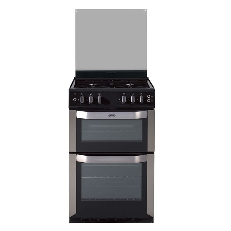 Freestanding 54cm gas twin cavity cooker - stainless steel, natural gas #Belling #UKmade #madeinBritian #British #cooker