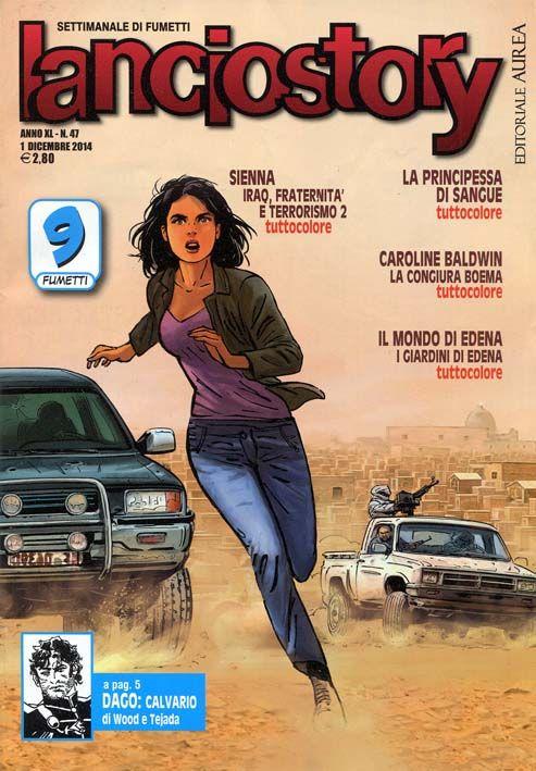 """Ecco cosa presentano i settimanali a fumetti """"Skorpio"""" e """"Lanciostory"""" in edicola da alcuni giorni grazie ad Editoriale Aurea. #Skorpio #Lanciostory #EditorialeAurea"""