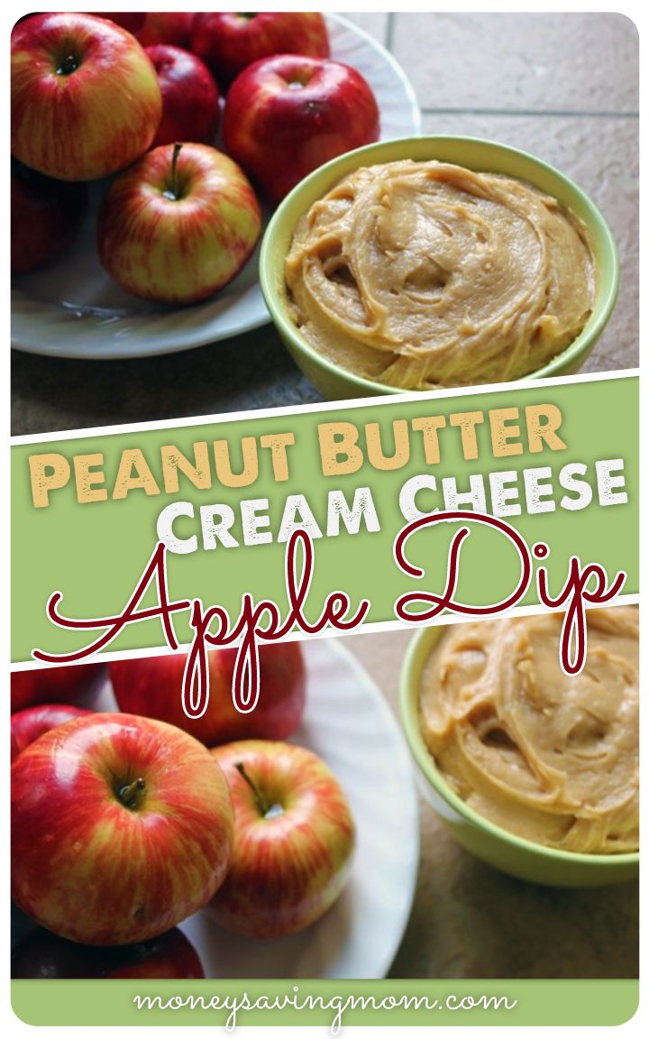 I have been making this Peanut Butter Cream Cheese Apple Dip for years, and it is SO good. It is a major hit at get-togethers, plus it's easy & inexpensive to make!