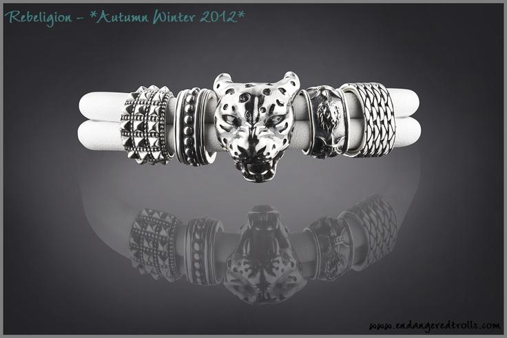 Rebeligion Fall 2012 White Bracelet
