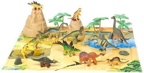 Big Tub Of Dinosaurs Animal Planet Indoor Playroom Game Preschool Playset Kids  #Hasbro