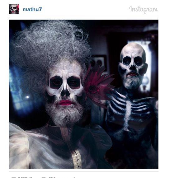 Mathu Andersen's Unreal Androgynous Instagram Selfie Transformations - Beautiful/Decay Artist & Design